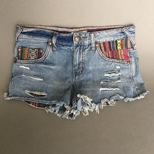 Women's Denim Cutoff Shorts